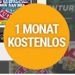Gratis! 1 Monat Readly Magazin-Flatrate