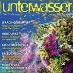 4 Ausgaben Unterwasser für 15,36€ inkl. 15€ Verrechnungsscheck