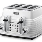 Ausverkauft! De'Longhi Toaster Scultura CTZ4003 mit elektronischer Regulierung und Lift-Funktion für 40,61€ (statt 127€)