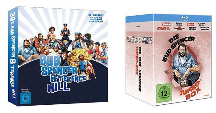 Bud Spencer und Terrence Hill DVD & Blu ray Angebote   mit 3 für 2 Aktion kombinierbar