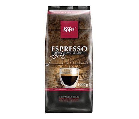 1kg Käfer Caffe Espresso Kaffeebohnen für 6,99€ (statt 10€)