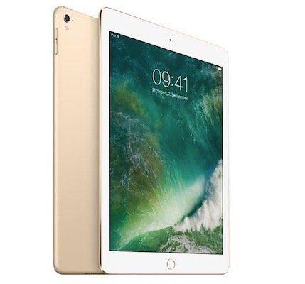 iPad Pro 9,7 Zoll mit 256GB + WLAN in Gold (2016) für 579€