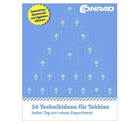 Conrad Adventskalender von 2016 für 5,99€