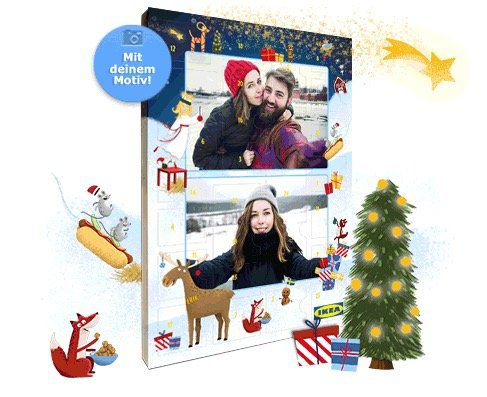 IKEA Adventskalender 2017 für 12,95€inkl. mind. 10€ Guthabenkarten