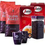 4kg Segafredo und Altezza Kaffeebohnen + 2 Tassen + Vorratsbox für 45,99€