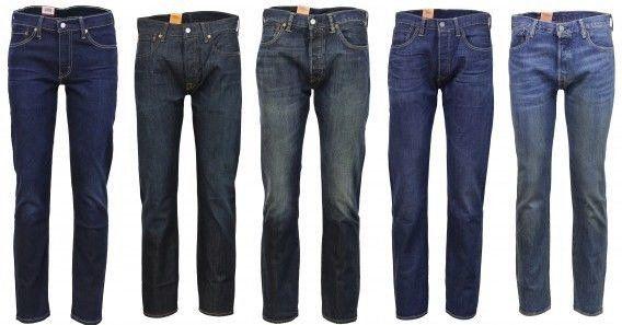 Levis 501 Original & Levis 511 Slim Fit Herren Jeans für 59,95€