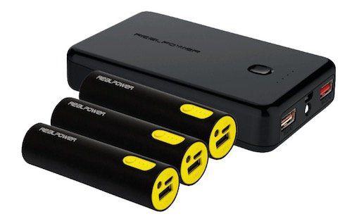RealPower PB 17800 Powerbank Family Pack für 16,99€ (statt 22€)