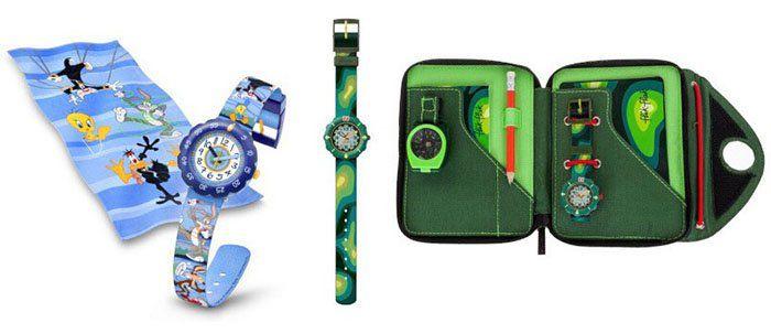 Flik flak Kinder Uhren Sale bei vente privee   z.B. Looney Tunes Box für 25,90€ (statt 52€)