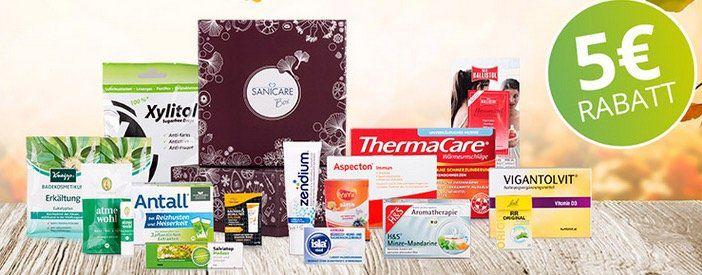 "Sanicare Box ""Bye, Bye Erkältung"" für 14,95€   Tipp!"