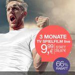 Tipp! 3 Monate TV Spielfilm live Streaming-Dienst für nur 9,99€ – perfekt für die WM Quali-Spiele