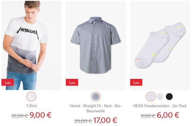 C&A Mid Season Sale mit krassen Preisen + 20% Gutschein