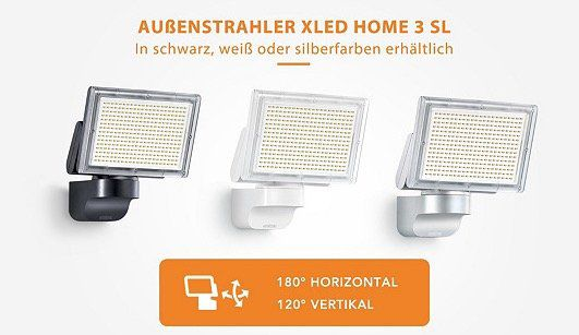 Steinel LED Außenstrahler bei vente privee   z.B. XLED Home 3 für 79,90€ (statt 130€)