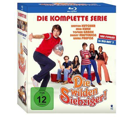 Die wilden Siebziger Komplettbox auf Blu ray mit 200 Folgen für 29,97€ (statt 55€)