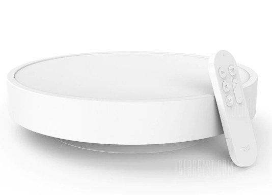 Xiaomi Yeelight Smart LED Deckenlampe mit Fernbedienung für 57,43€   EU Lager