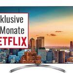 LG 60SJ8509 – 60 Zoll 4k Fernseher mit HDR 10 für 1.338,99€ (statt 1.599€) + 6 Monate Netflix gratis