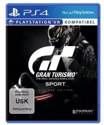 Gran Turismo: Sport Day One Edition (PS4) für 9,99€ (statt 19€)