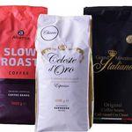 Exklusives Kaffeepaket mit 3kg Bohnen von Premiummarken für 29,99€