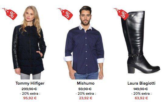 20% Extra Rabatt bei dress for less auch im 75% Sale + weitere 10% per Gutschein