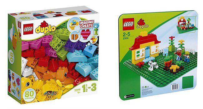 Lego Duplo: Meine ersten Bausteine + große Bauplatte für nur 19,98€ (statt 25€)