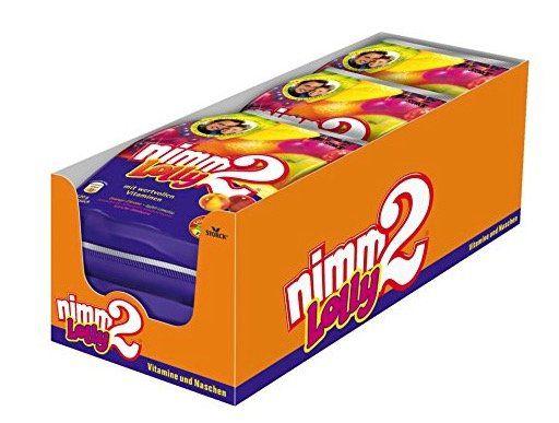 72er Pack Nimm2 Lolly für 4,97€   Plus Produkt mit 20€ MBW