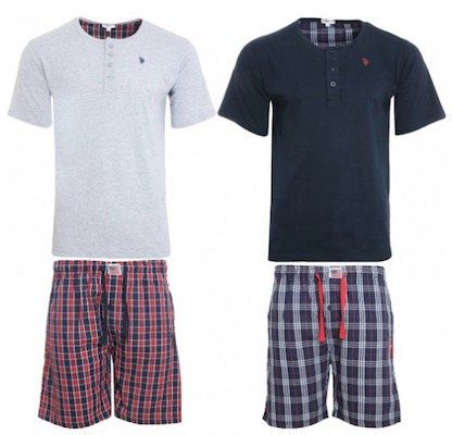 U.S. POLO ASSN. Herren Pyjama Set für 17,99€ (statt 30€)