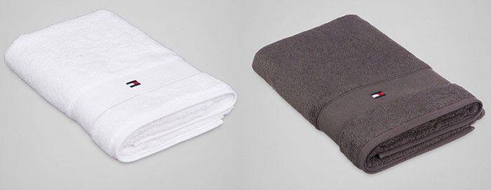 Tommy Hilfiger Bettwäsche, Decken, Kissen und Bademäntel bei vente privee