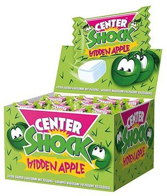 100er Pack Center Shock Apfel für 4,99€   Plus Produkt!