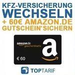 Kfz-Versicherung wechseln + 60€ Amazon.de Gutschein* – Bonus-Deal!