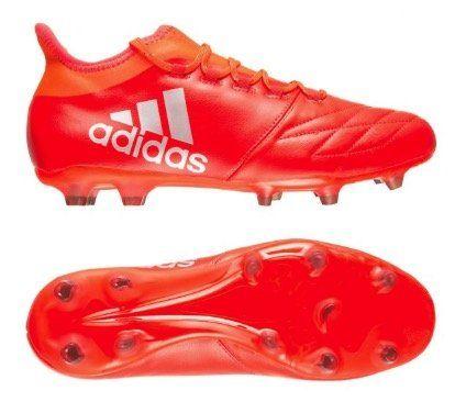 adidas X 16.2 FG Leather Herren Leder Fußballschuhe für 30,21€ (statt 42€)