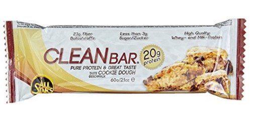 18er Pack All Stars Clean Bar Cookie Dough Protein Riegel für 15,36€ (statt 29€)