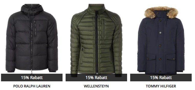 Peek & Cloppenburg* mit 15% Rabatt auf Jacken, Jeans und Pullover   Wellensteyn, Hilfiger und Co.