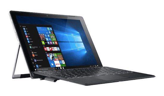 Schnell? Acer Aspire Switch Alpha 12   12 Zoll WQHD Win 10 Tablet mit 256GB und Tastatur für 777€ (statt 1.004€)