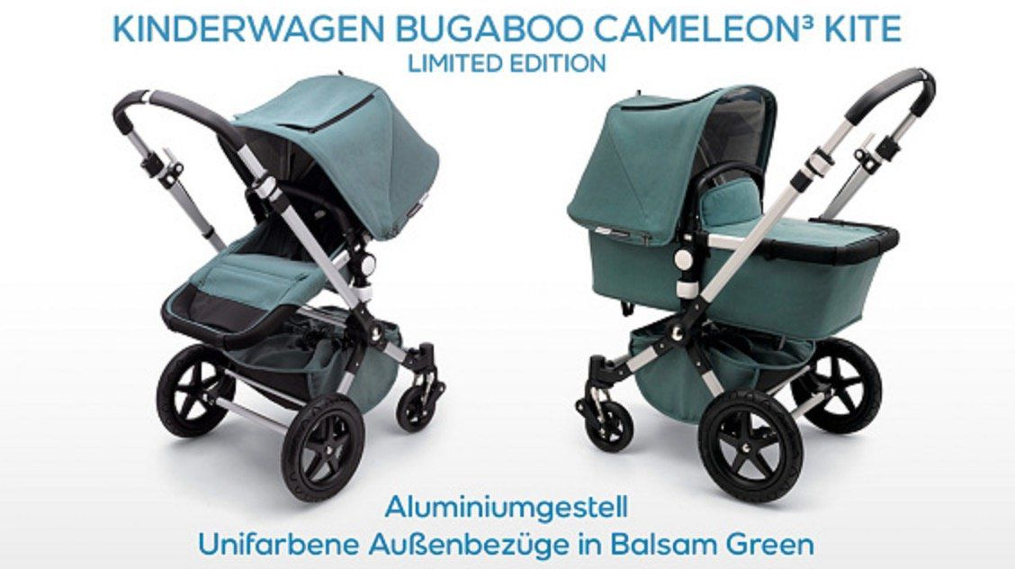 bugaboo Cameleon 3 Kite inkl. Baumwoll Musselin Decke für 611,90€ (statt 919€)