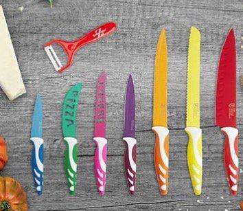 Swiss Home 8 teiliges Messer & Sparschäler Set  + 2 Gratis Artikel für 2,97€ + VSK