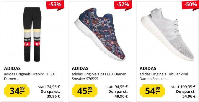 adidas Sale bei SportSpar + 5€ Gutschein ab 50€   z.B. adidas Tubular Doom Primeknit Herren Sneaker für 59,99€ (statt 70€)