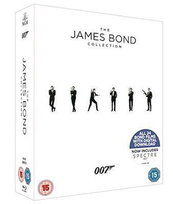 James Bond Collection 2017 auf Blu Ray für 43€ (statt 71€)