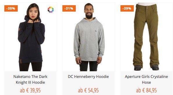 Blue Tomato Winter Sale mit mindestens 50% Rabatt   z.B. Naketano The Dark Knight III Hoodie 39€