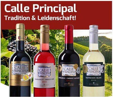 Knaller! 18 Flaschen Calle Principal Wein für 46,77€ (nur 2,60€ pro Flasche)   nur Neukunden