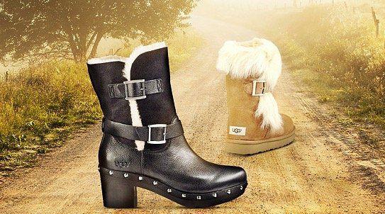 UGG Damen Boots im Tagesangebot bei vente privee   z.B. UGG Aidah Mini Boots für 105,90€ (statt 140€)