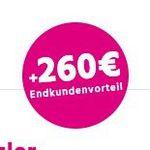 Telekom MagentaZuhause  – verschiedene Tarife z.B. MagentaZuhause M 50 Mbit/s für 24,12€ mtl. (Wechsler)