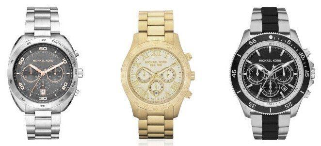 Michael Kors Uhren & Schmuck bei Veepee   z.B. Herrenuhr Theroux für 169,99€ (statt 209€)