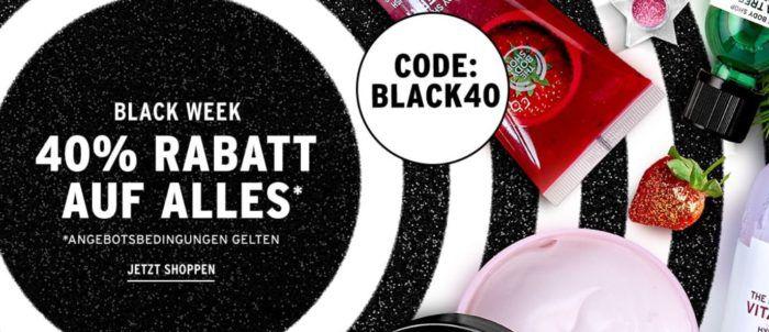 40% Rabatt bei The Body Shop auf (fast) alles + VSK frei ab 45€
