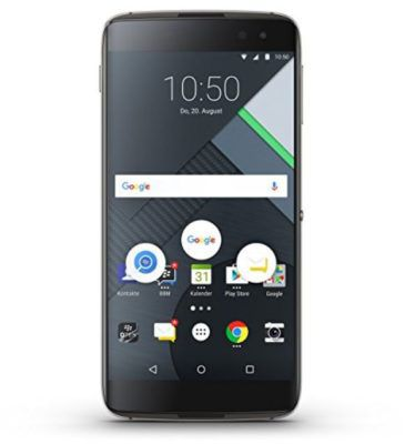 BlackBerry DTEK60   5,5 Zoll Android Smartphone 32GB + Adidas Fussball für 249€ (statt 369€)