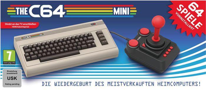 🕹️ The C64   offizielle mini Konsole mit 64 Spielen ab 31,50€ (statt 45€)