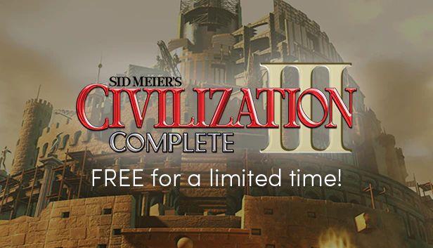 Sid Meiers Civilization 3 Complete Edition (Steam Key, Sammelkarten) gratis im Humble Store