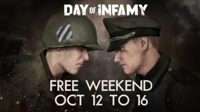Day of Infamy (Steam) gratis spielbar vom 12. bis 16. Oktober + doppelte XP