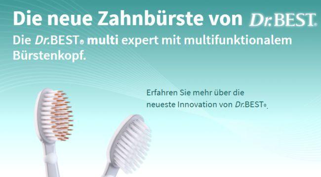 Dr. Best Multi Expert Zahnbürste gratis