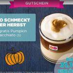 Gratis Pumpkin-Macchiato bei Dunkin Donuts (App erforderlich)