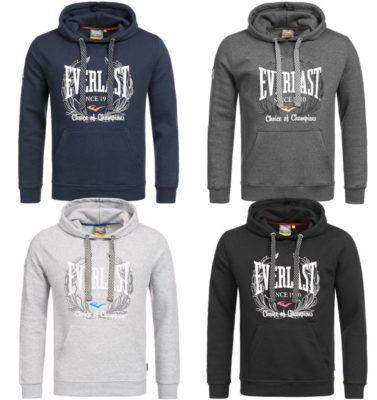 Everlast Herren Hoodies 4 Modelle bis XL für je 22,99€