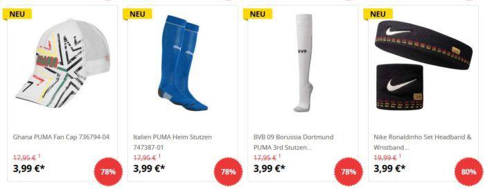 SportSpar: Fußballtrikots + Fanartikel Sale aus euro Ligen & BuLi ab 1,99€ (+ VSK)